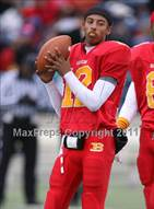 This MaxPreps.com professional photo is from the gallery Hermitage vs. Bayside (VHSL Group 3A Division 6 Semifinal) which features Bayside high school athletes playing  Football.