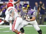 This MaxPreps.com professional photo features Wylie high school Connor Carlton playing  Football. This photo was shot by Todd Shurtleff and published on Shurtleff.