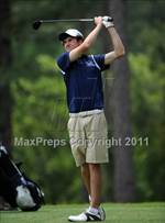 This MaxPreps.com professional photo is from the gallery NCHSAA State 4A Boys Golf Championships (Day 2) which features Green Hope high school athletes playing  Golf. This photo was shot by Michael McLoone and published on McLoone.