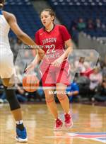 This MaxPreps.com professional photo features Judson high school Kyra White playing Girls Basketball. This photo was shot by Kenneth Toso and published on Toso.