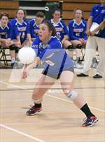 This MaxPreps.com professional photo features Christian Brothers high school Mackenzie Lusich playing  Volleyball. This photo was shot by David Steutel and published on Steutel.