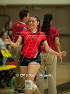 This MaxPreps.com professional photo is from the gallery Seton Catholic @ Saguaro which features Seton Catholic high school athletes playing  Volleyball.