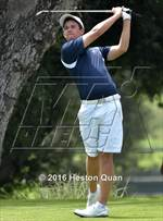 This MaxPreps.com professional photo is from the gallery CIF State Boys Golf Championships which features Arcadia high school athletes playing  Golf. This photo was shot by Heston Quan and published on Quan.