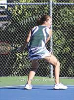 This MaxPreps.com professional photo is from the gallery BVAL Individual Singles/Doubles Finals Day 1 which features Gunderson high school athletes playing Girls Tennis. This photo was shot by Barbara Spindler and published on Spindler.