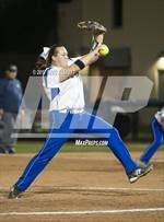 This MaxPreps.com professional photo features South Park high school Justine Dean playing  Softball. This photo was shot by Eric Elliott and published on Elliott.