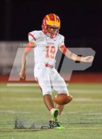 This MaxPreps.com professional photo features Clearwater Central Catholic high school Preston McDonald playing  Football. This photo was shot by Marc Estrada and published on Estrada.