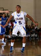 This MaxPreps.com professional photo is from the gallery Gahr vs. Price (Pangos Dream Classic) which features Gahr high school athletes playing  Basketball.