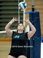 This MaxPreps.com professional photo is from the gallery Mesquite vs. Highland which features Highland high school athletes playing  Volleyball. This photo was shot by Darin Sicurello and published on Sicurello.