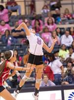 This MaxPreps.com professional photo is from the gallery Incarnate Word @ Antonian Prep which features Incarnate Word high school athletes playing  Volleyball. This photo was shot by Kenneth Toso and published on Toso.