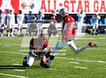 This MaxPreps.com professional photo is from the gallery Alabama vs Mississippi All-Star Game (Cramton Bowl) which features Columbus high school athletes playing  Football. This photo was shot by Brandon Sumrall and published on Sumrall.