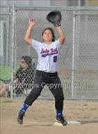 This MaxPreps.com professional photo is from the gallery Golden Sierra @ Highlands which features Highlands high school athletes playing  Softball.