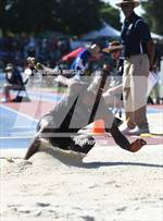 This MaxPreps.com professional photo is from the gallery CIF State Track and Field Championships (Boys Long Jump Qualifying) which features Oaks Christian high school athletes playing  Track & Field. This photo was shot by Derek Marsano and published on Marsano.