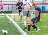 This MaxPreps.com professional photo features East Central high school Evan Spangler playing  Soccer. This photo was shot by Tim Ashcraft and published on Ashcraft.