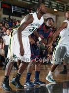 This MaxPreps.com professional photo is from the gallery St. Patrick vs Milton (City of Palms Classic) which features Patrick School high school athletes playing  Basketball.