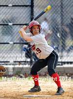 This MaxPreps.com professional photo is from the gallery St. John's Prep @ Bishop Ford  which features Bishop Ford high school athletes playing  Softball. This photo was shot by Ashley Marshall and published on Marshall.