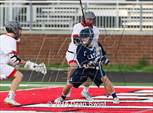 This MaxPreps.com professional photo features Nation Ford high school Jack Mccullough playing  Lacrosse. This photo was shot by Dean Swint and published on Swint.