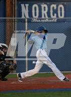 This MaxPreps.com professional photo is from the gallery Santiago @ Norco which features Norco high school athletes playing  Baseball.