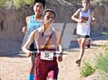This MaxPreps.com professional photo is from the gallery Del Valdez Invitational which features Jemez Valley high school athletes playing  Cross Country. This photo was shot by John Denne and published on Denne.