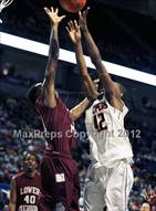 This MaxPreps.com professional photo is from the gallery Chester vs. Lower Merion (PIAA AAAA Final) which features Chester high school athletes playing  Basketball.