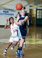 This MaxPreps.com professional photo is from the gallery Chadwick @ Bishop Diego (CIF SS D5A Playoffs) which features Bishop Diego high school athletes playing Girls Basketball.