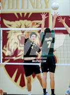 This MaxPreps.com professional photo is from the gallery Placer vs. Rio Americano (CIF D2 Final) which features Rio Americano high school athletes playing Boys Volleyball.