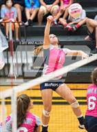 This MaxPreps.com professional photo is from the gallery Soddy Daisy @ Hixson which features Soddy Daisy high school athletes playing  Volleyball.