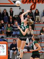 This MaxPreps.com professional photo is from the gallery Ponderosa @ Roseville (CIF SJS D2 Playoffs) which features Ponderosa high school athletes playing  Volleyball.
