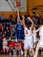 This MaxPreps.com professional photo is from the gallery Chico vs Pleasant Valley (NS D2 Final) which features Pleasant Valley high school athletes playing Girls Basketball.