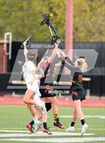 This MaxPreps.com professional photo features Rocky Mountain high school , Jessica Harrison and Audrey Lambert playing Girls Lacrosse. This photo was shot by Jeffery Tucker and published on Tucker.