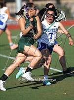 This MaxPreps.com professional photo is from the gallery Palo Alto @ Pioneer which features Pioneer high school athletes playing Girls Lacrosse. This photo was shot by David Stephenson and published on Stephenson.