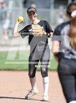 This MaxPreps.com professional photo features Saint Francis high school  playing  Softball. This photo was shot by Aaron Godwin and published on Godwin.