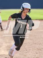 This MaxPreps.com professional photo is from the gallery Saint Francis vs. Archbishop Mitty (CIF CCS Open Division Final) which features Saint Francis high school athletes playing  Softball. This photo was shot by Aaron Godwin and published on Godwin.