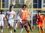This MaxPreps.com professional photo is from the gallery Erasmus Hall @ Jefferson which features Jefferson high school athletes playing  Soccer. This photo was shot by Michael McLaughlin and published on McLaughlin.