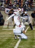 This MaxPreps.com professional photo is from the gallery Sachse vs. The Woodlands (UIL 6A Area Playoff) which features The Woodlands high school athletes playing  Football.