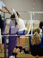 This MaxPreps.com professional photo features Ridgeview high school Kylee Salinas playing  Volleyball. This photo was shot by David Dennis and published on Dennis.