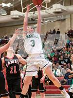 This MaxPreps.com professional photo features St. Mary's high school Makenna Bodette playing Girls Basketball. This photo was shot by Jeffery Tucker and published on Tucker.
