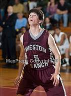 This MaxPreps.com professional photo is from the gallery Granada Hills vs Weston Ranch which features Weston Ranch high school athletes playing  Basketball.