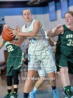 This MaxPreps.com professional photo features Shawnee high school Jenna Hoffner playing Girls Basketball. This photo was shot by Mark Fletcher and published on Fletcher.