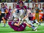This MaxPreps.com professional photo features Magnolia high school  and Drew Hantla playing  Football. This photo was shot by Ken Murray and published on Murray.