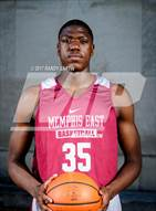 This MaxPreps.com professional photo is from the gallery Memphis East (Preseason Early Contenders Photo Shoot) which features Memphis East high school athletes playing  Basketball.