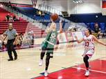 This MaxPreps.com professional photo features Murrieta Mesa high school Amanda Gonzalez playing Girls Basketball. This photo was shot by Scott Padgett and published on Padgett.