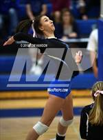 This MaxPreps.com professional photo features Resurrection Christian high school Dani Hekowczyk playing  Volleyball. This photo was shot by Tom Hanson and published on Hanson.