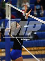 This MaxPreps.com professional photo features Resurrection Christian high school Aspynn Ellis playing  Volleyball. This photo was shot by Tom Hanson and published on Hanson.