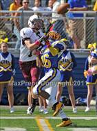 This MaxPreps.com professional photo is from the gallery Fordham Prep @ Kellenberg Memorial which features Fordham Prep high school athletes playing  Football.