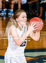 This MaxPreps.com professional photo features Cambridge high school Claire Hampton playing Girls Basketball. This photo was shot by Steve Hampton and published on Hampton.
