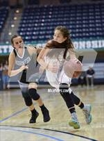 This MaxPreps.com professional photo features Escondido Adventist Academy high school Allison Simmons playing Girls Basketball. This photo was shot by Justin Fine and published on Fine.