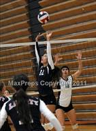 This MaxPreps.com professional photo is from the gallery Liberty vs. St. Mary's (Durango Fall Classic) which features Liberty high school athletes playing  Volleyball.
