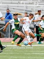 This MaxPreps.com professional photo features Placer high school Sarah Jeffries playing Girls Soccer. This photo was shot by Gary Jones and published on Jones.