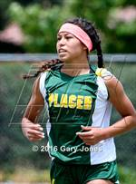 This MaxPreps.com professional photo features Placer high school Vanessa Alonzo playing Girls Soccer. This photo was shot by Gary Jones and published on Jones.