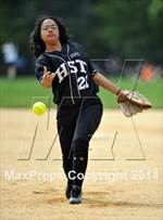 This MaxPreps.com professional photo features Green high school Jamerly De La Cruz playing  Softball. This photo was shot by Ashley Marshall and published on Marshall.
